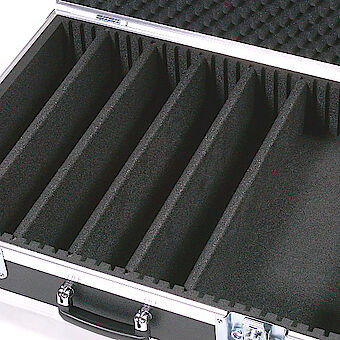 7mm partitioning in slotted foam