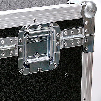 Stable hinges and lid opening adjuster in the shell