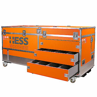 Exhibition Installation flight case k08361001